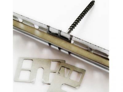 Крепеж для штукатурных маячков из оцинкованной стали